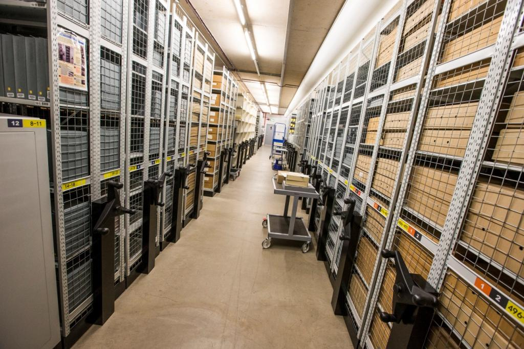 Room for Rent - Repository Space at Glamorgan Archives