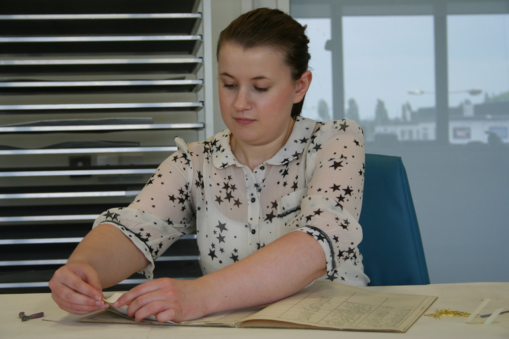 Work Experience at Glamorgan Archives