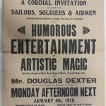 'Humorous Entertainment of Artistic Magic': Cardiff Naturalists' Society Supporting the War Effort