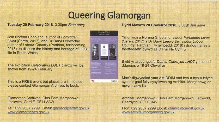 Queering Glamorgan - Talk